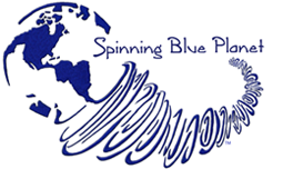 Logo Spinning Blue Planet